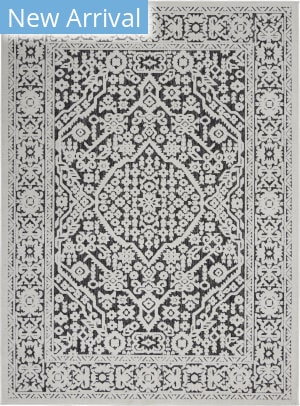 Nourison Key Largo KLG04 Dark Grey Area Rug