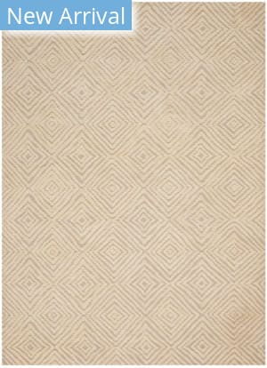 Nourison Modern Deco Mdc01 Taupe - Ivory Area Rug