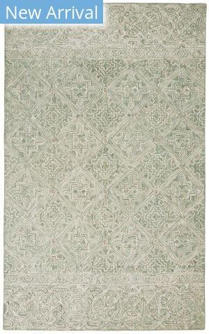 Nourison Azura Azm01 Ivory - Grey - Teal Area Rug
