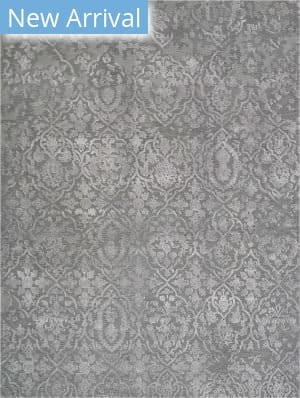 Nourison Opaline Opa14 Charcoal - Silver Area Rug