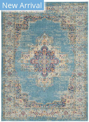 Nourison Passion Psn03 Light Blue Area Rug