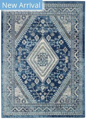 Nourison Persian Vintage Prv03 Ivory Blue Area Rug