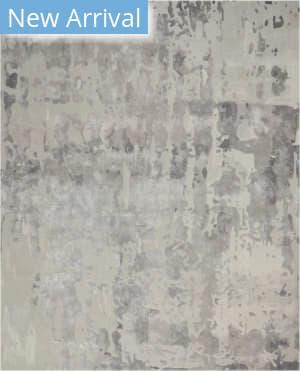 Nourison Prismatic Prs12 Silver Grey Area Rug