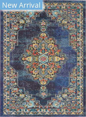 Nourison Passionate Pst01 Navy Area Rug