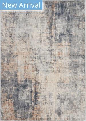 Nourison Rustic Textures Rus01 Grey - Beige Area Rug