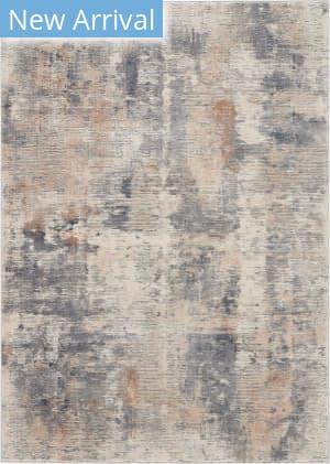 Nourison Rustic Textures Rus05 Beige - Grey Area Rug