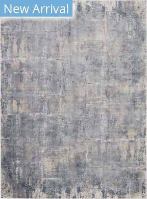 Nourison Rustic Textures Rus06 Grey - Beige Area Rug