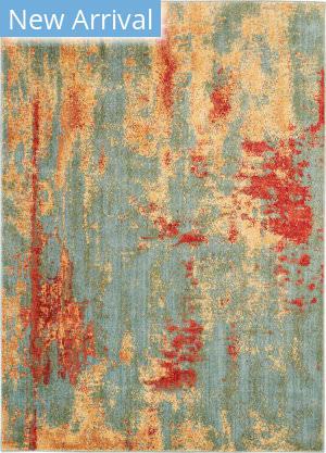 Nourison Somerset St91 Teal - Multicolor Area Rug