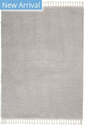 Nourison Serenity Shag Srs04 Light Grey Area Rug