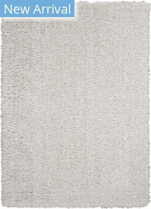 Nourison Ultra Plush Shag Ulp01 Light Grey Area Rug