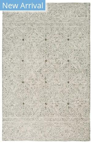 Nourison Azura Azm01 Ivory - Grey Area Rug