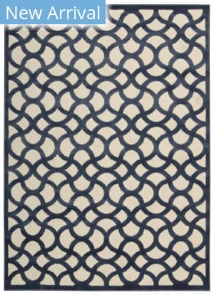 Rugstudio Sample Sale 140569R Ivory Blue Area Rug