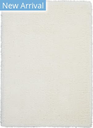 Nourison Luxe Shag Lxs01 Ivory Area Rug