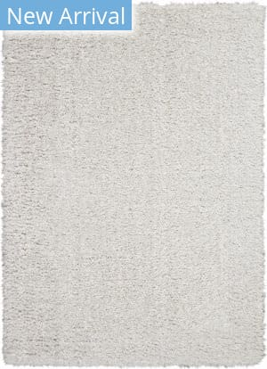Nourison Luxe Shag Lxs01 Light Grey Area Rug