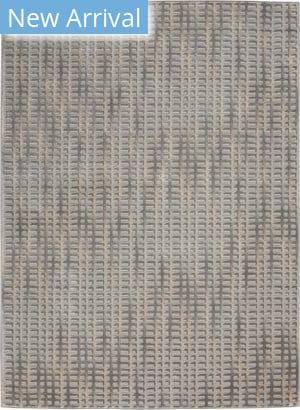 Nourison Solace Sla04 Grey - Beige Area Rug