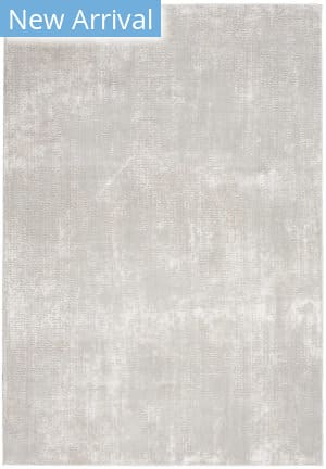 Nourison Silky Textures Sly01 Ivory - Grey Area Rug