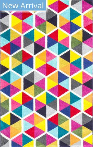Famous Maker Maris Triangles Multi Area Rug