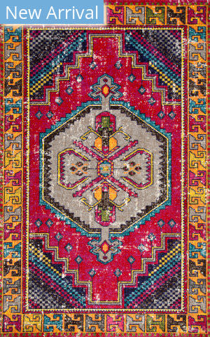 Nuloom Joy Tribal Red Area Rug