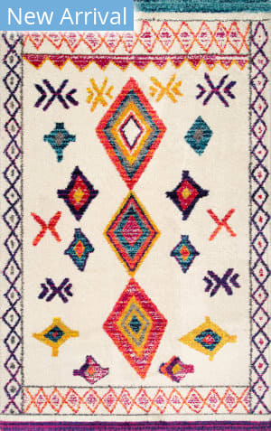 Famous Maker Bohemian Liz Ivory Area Rug