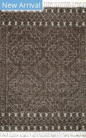 Nuloom Vasiliki Moroccan Brown Area Rug