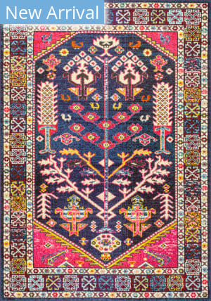 Famous Maker Tribal Tonita Pink Area Rug