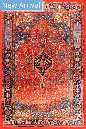 Nuloom Silvia Vintage Orange Area Rug
