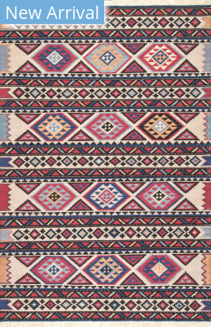 Famous Maker Portia Tribal Red Area Rug