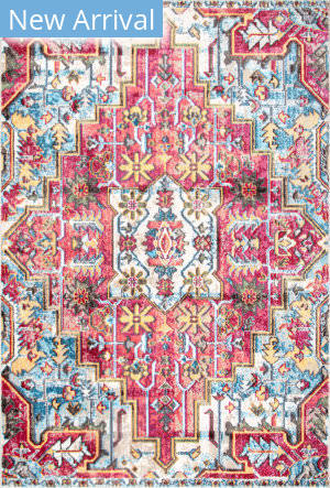 Nuloom Elena Vintage Floral Orange Area Rug