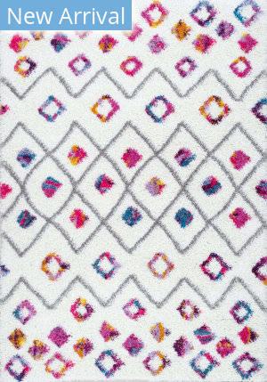 Famous Maker Tatyana Trellis Pink Area Rug