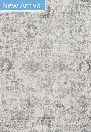 Famous Maker Floral Rosemary Gray Area Rug