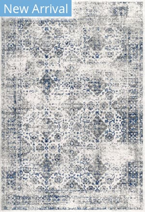 Nuloom Distressed Mabelle Blue Area Rug