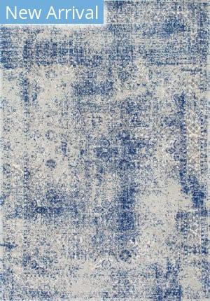 Famous Maker Vintage Willena Blue Area Rug