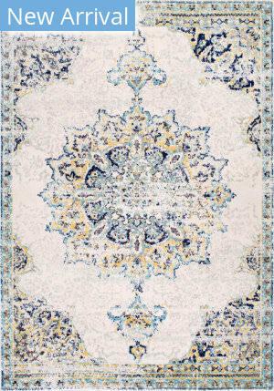 Famous Maker Vintage Leola Blue Area Rug