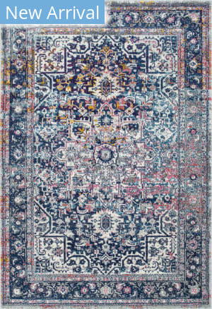 Famous Maker Persian Raylene Blue Area Rug