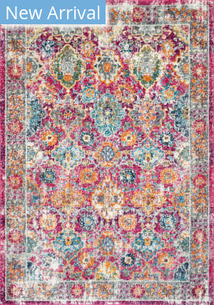 Famous Maker Persian Leilani Pink Area Rug