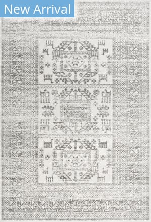 Nuloom Marisela Tribal Grey Area Rug