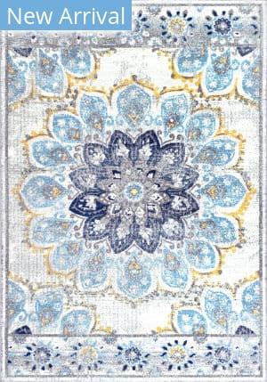 Famous Maker Vintage Kiyoko Blue Area Rug