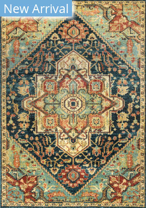 Famous Maker Tribal Tabetha Green Area Rug