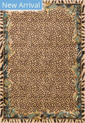 Nuloom Darcey Leopard Skin Beige Area Rug