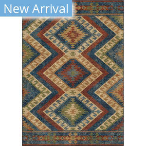 Orian Bohemian Kilim Diamonds Harvest Area Rug