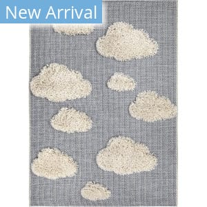 Orian Navajo Chasing Dreams Blue Area Rug