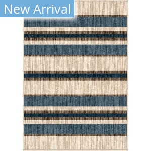 Orian Farmhouse Tourist Stripe Natural Area Rug