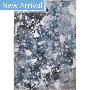 Orian Transitions Splatter Slate Area Rug