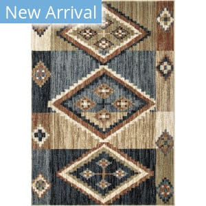 Orian Sedona Canyon Run Dark Multi Area Rug