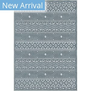 Orian Farmhouse Golden Valley Harbor Blue Area Rug