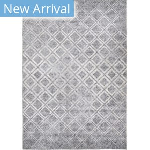 Orian Bali Checkers Anyone Silver Blue Area Rug