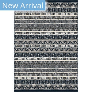 Orian Farmhouse Bamba Indigo Area Rug