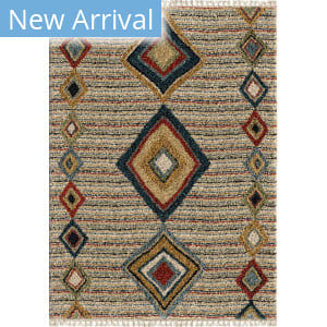 Orian Bedouin Tribal Door Off White Area Rug