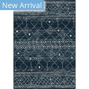 Orian Farmhouse Gabbeh Field Faded Indigo Area Rug