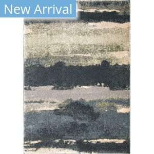 Orian Portland Canyon Soft Blue Area Rug